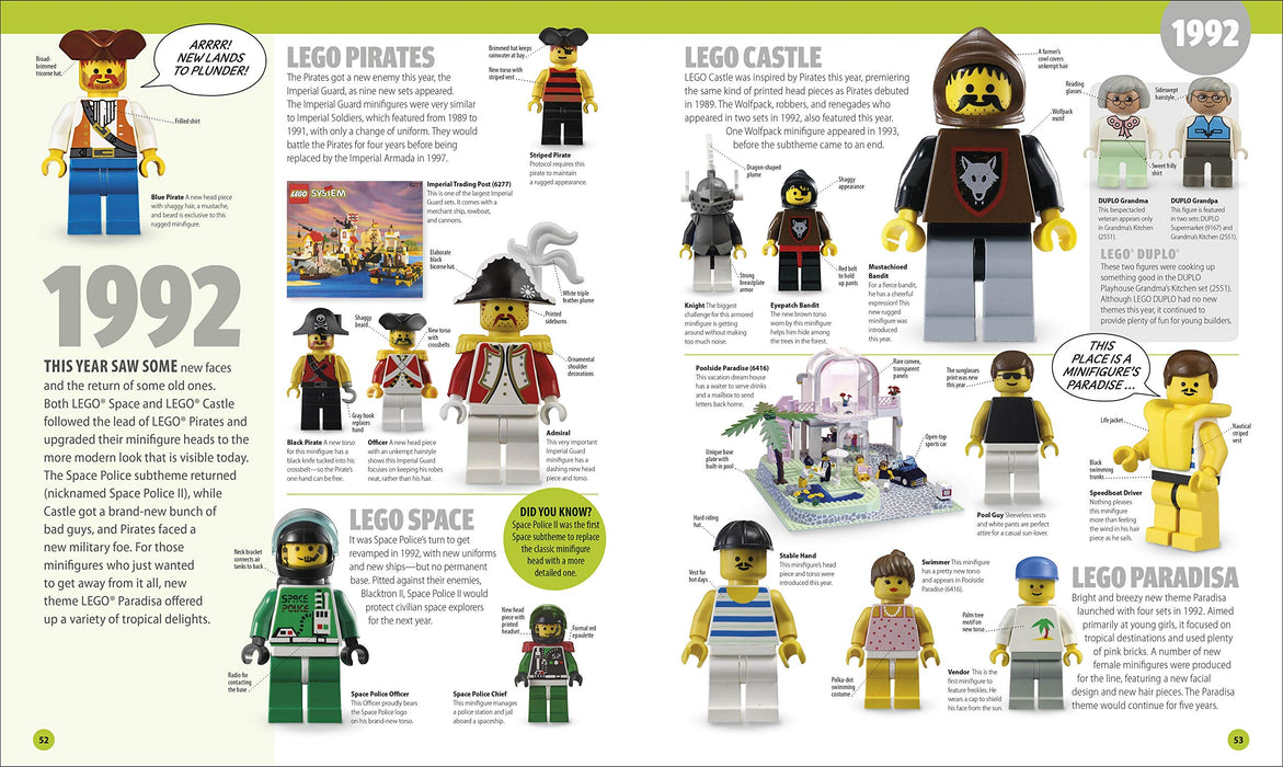 LEGO® Minifigure A Visual History New Edition