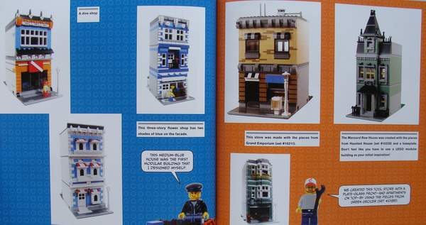 The LEGO® Neighborhood Book