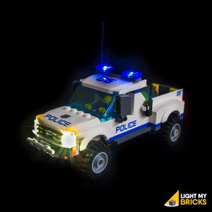 Light My Bricks  Starter kit - Auto della polizia (6 luci)