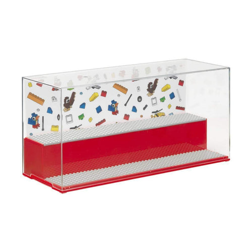 LEGO Play & Display Case - Rosso - ROOM Copenhagen