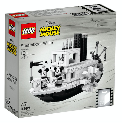 LEGO  Steamboat Willie - 21317