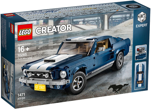 Ford Mustang - 10265-LEGO Creator EXPERT-Il Mattoncino