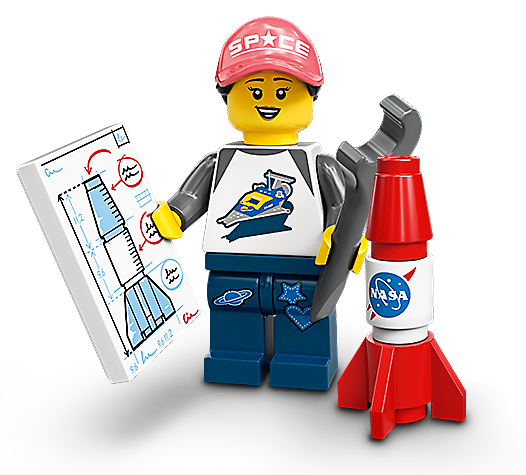 LEGO Minifigures Nasa FAN 71027