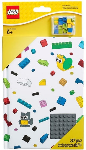 LEGO  Notebook with studs