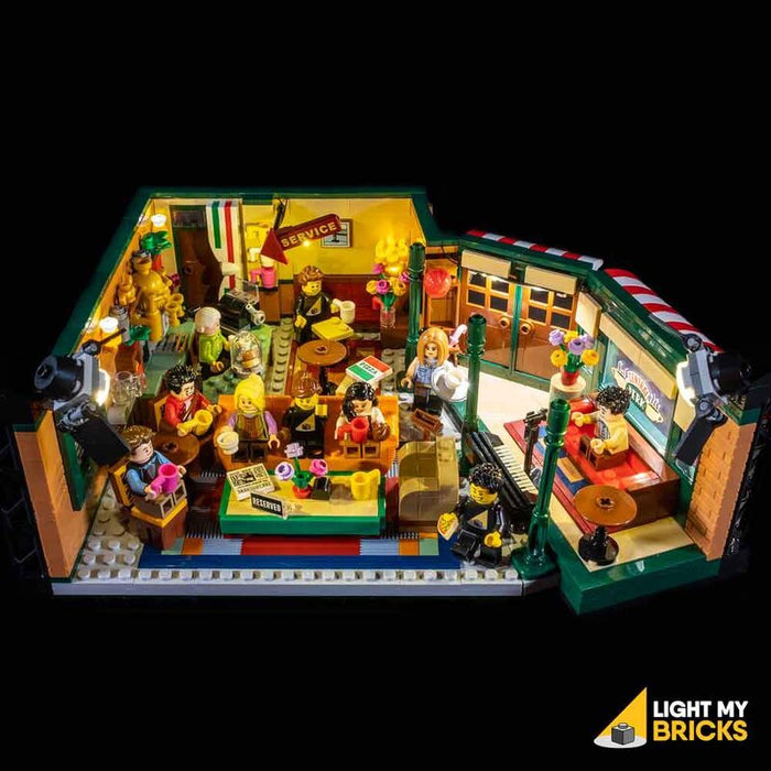 Light My Bricks  Kit di illuminazione a LED per LEGO® 21319 Central Perk