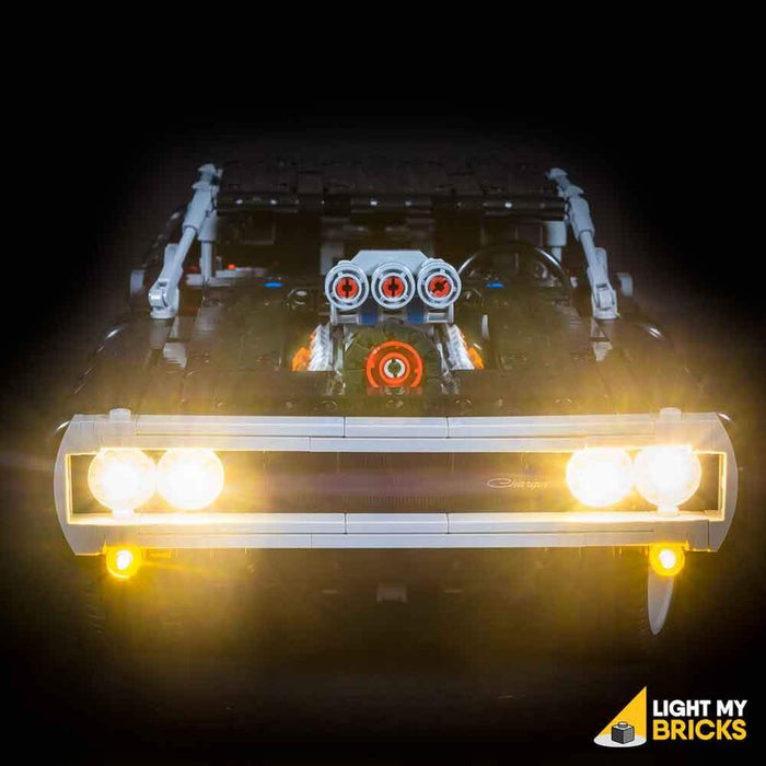 LEGO  Kit Illuminazione LED LEGO Dom's Dodge Charger 42111 - Lightmybricks