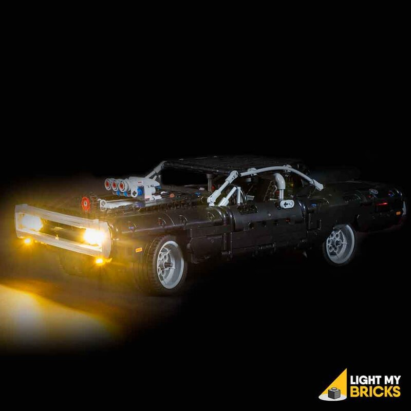 Kit Illuminazione LED LEGO Dom's Dodge Charger 42111 - Lightmybricks