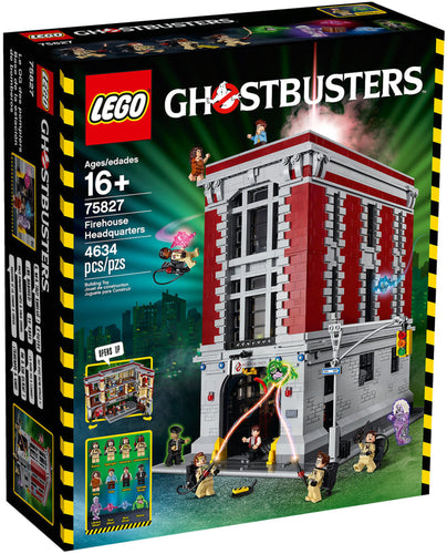 LEGO  Caserma Ghostbusters - Firehouse Headquarters - 75827