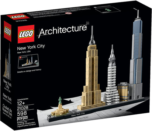 New York City - 21028-LEGO Architecture-Il Mattoncino