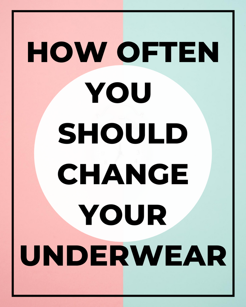 how often should you change your underwear