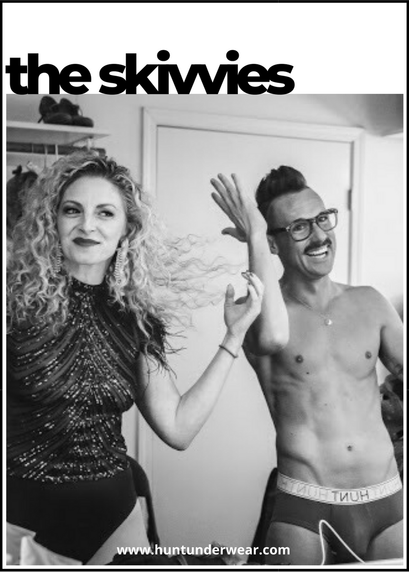 interview with the skivvies, lauren molina and nick cearley