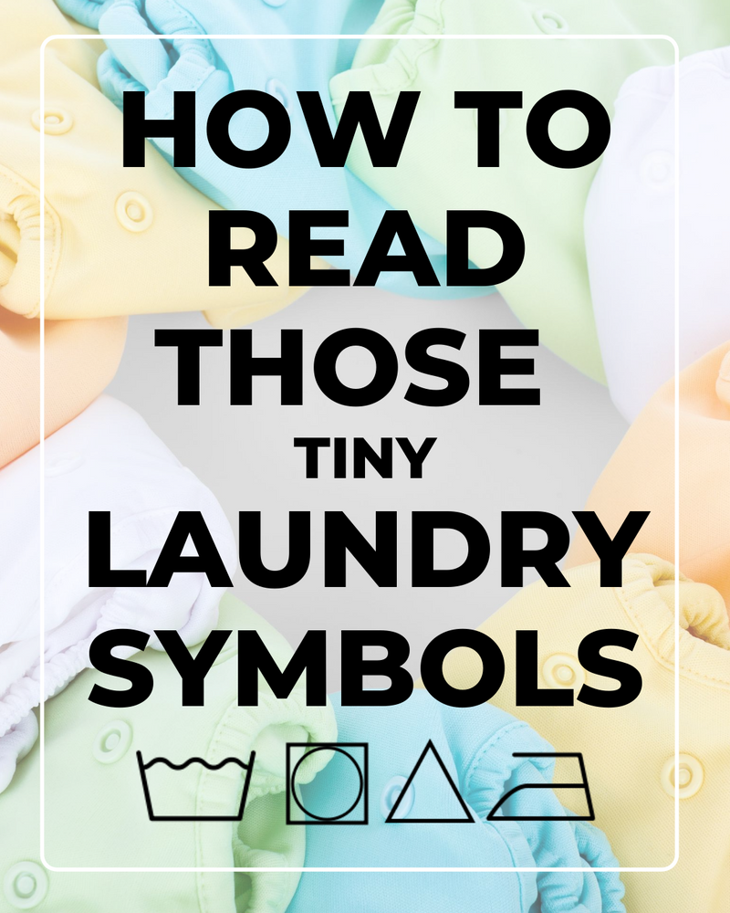Laundry Symbols: How to Read a Care Tag