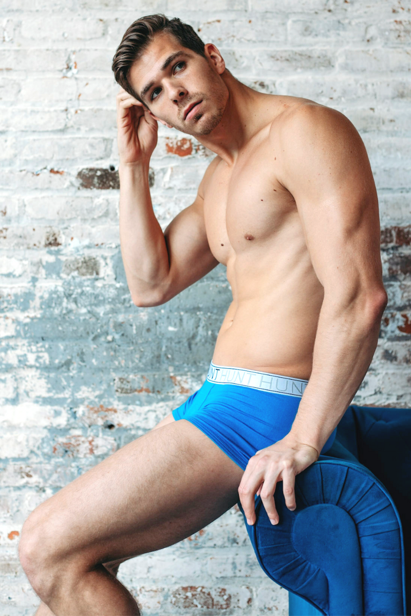 Blue Trunks - Hunt Underwear