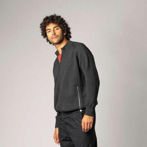 Cardigan Man Black-Jacke-ThokkThokk-S-jesango - Fair Fashion nachhaltige Mode Fairtrade jesango