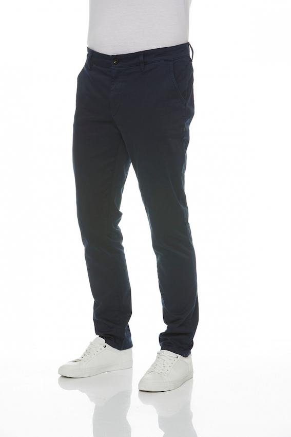 Jim slim Chino antique - dunkelblau.