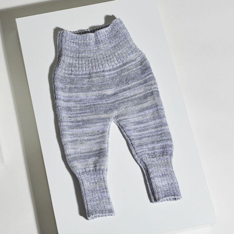 Joy Babyhose - grau-Babyhosen-OYA STUDIO-1 - 9 Monate-jesango - Fair Fashion nachhaltige Mode Fairtrade jesango