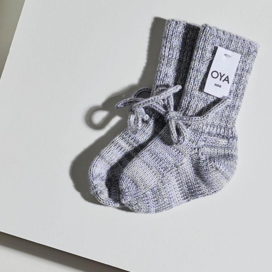 Joy Babysocken - grau-Babysocken-OYA STUDIO-1 - 6 Monate-jesango - Fair Fashion nachhaltige Mode Fairtrade jesango