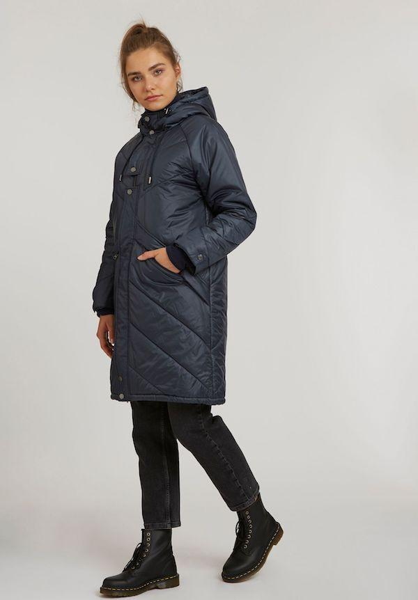kapok raglan parka dark navy thokkthokk dark navy recycelte materialien s nachhaltige mode fair fashion vegan jesango