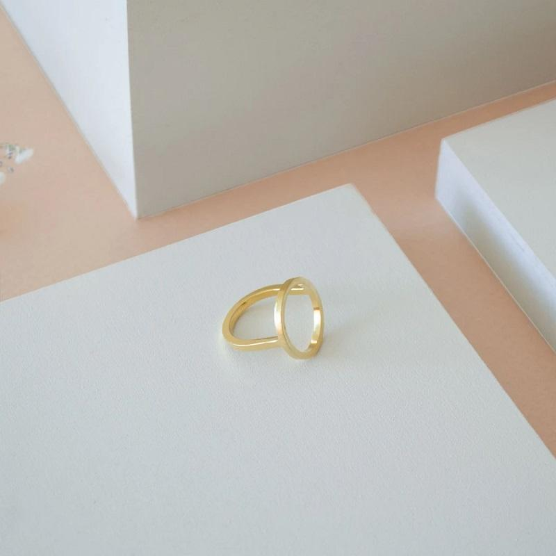 Ring Paula - gold-Ringe-CANO-jesango - Fair Fashion nachhaltige Mode Fairtrade jesango