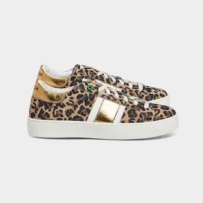 Sneaker KINGSTON Leopardenmuster gold-Sneakers-WOMSH-36-jesango - Fair Fashion nachhaltige Mode Fairtrade jesango