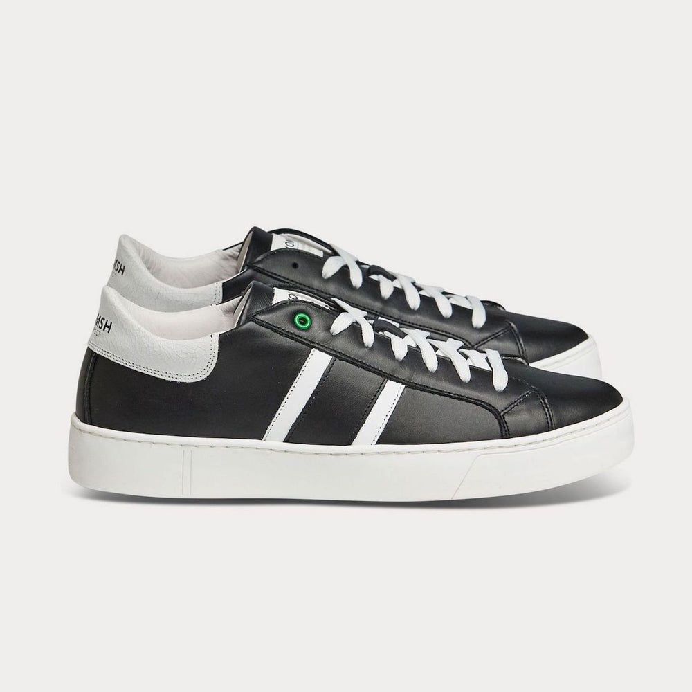Sneaker KINGSTON - schwarz weiß-Sneakers-WOMSH-42-jesango - Fair Fashion nachhaltige Mode Fairtrade jesango
