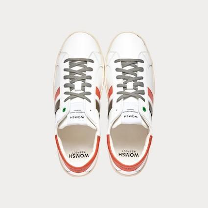 Sneaker KINGSTON weiß orange grau-Sneakers-WOMSH-42-jesango - Fair Fashion nachhaltige Mode Fairtrade jesango