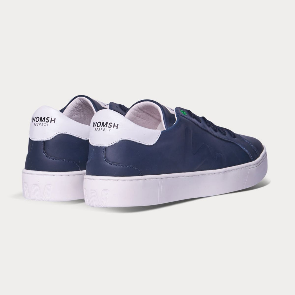Sneaker SNIK - blau-Sneakers-WOMSH-42-jesango - Fair Fashion nachhaltige Mode Fairtrade jesango
