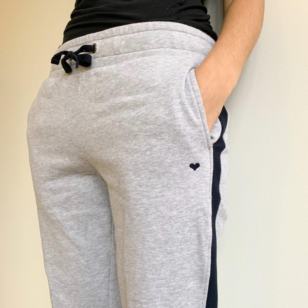 Sweatpants - grau-Hosen-Another Brand-L-jesango - Fair Fashion nachhaltige Mode Fairtrade jesango