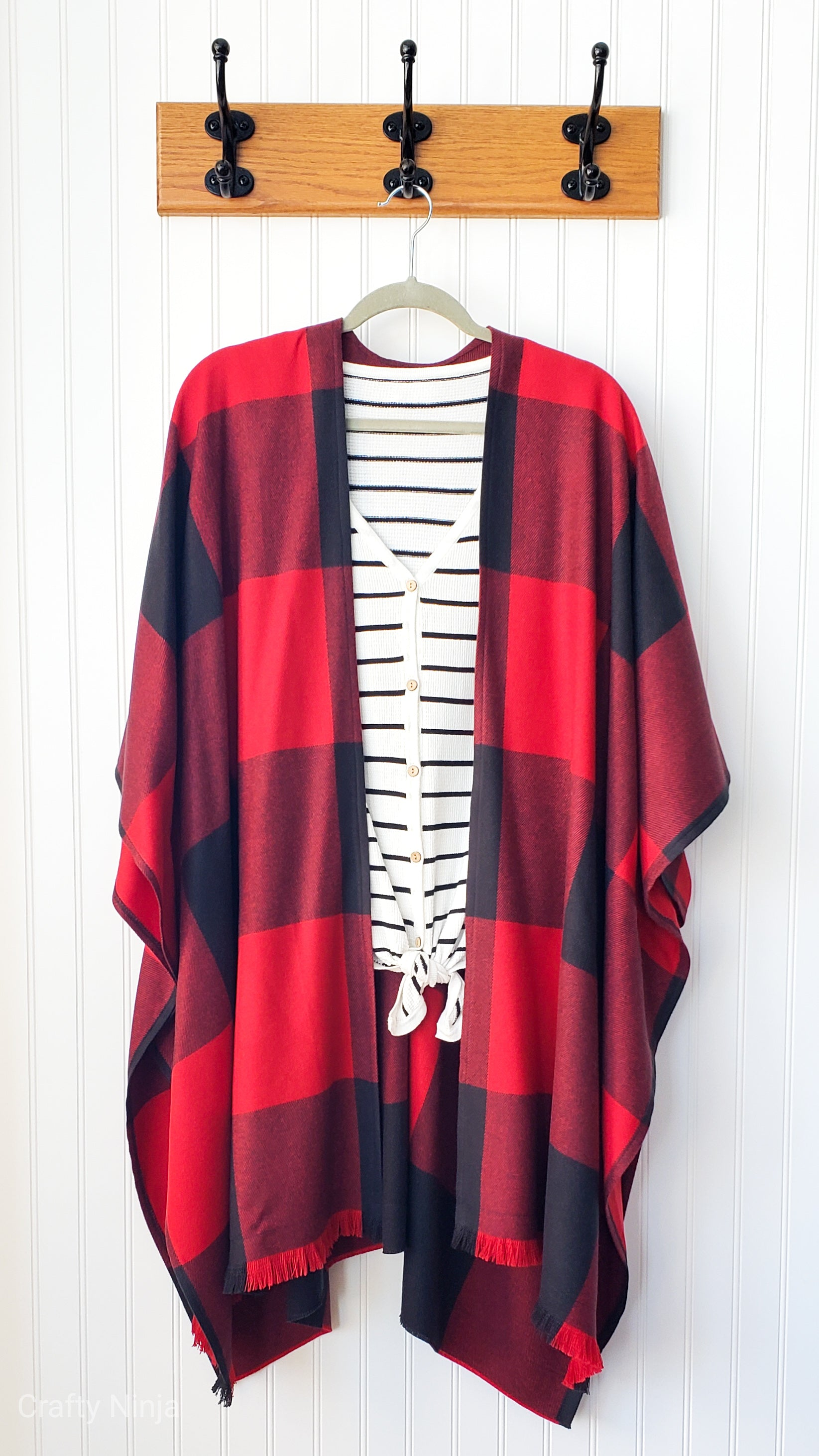 Amanda- Red and Black Buffalo Plaid
