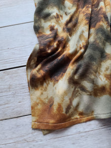 Natalie-Earth Tones Stretch Tie Dye
