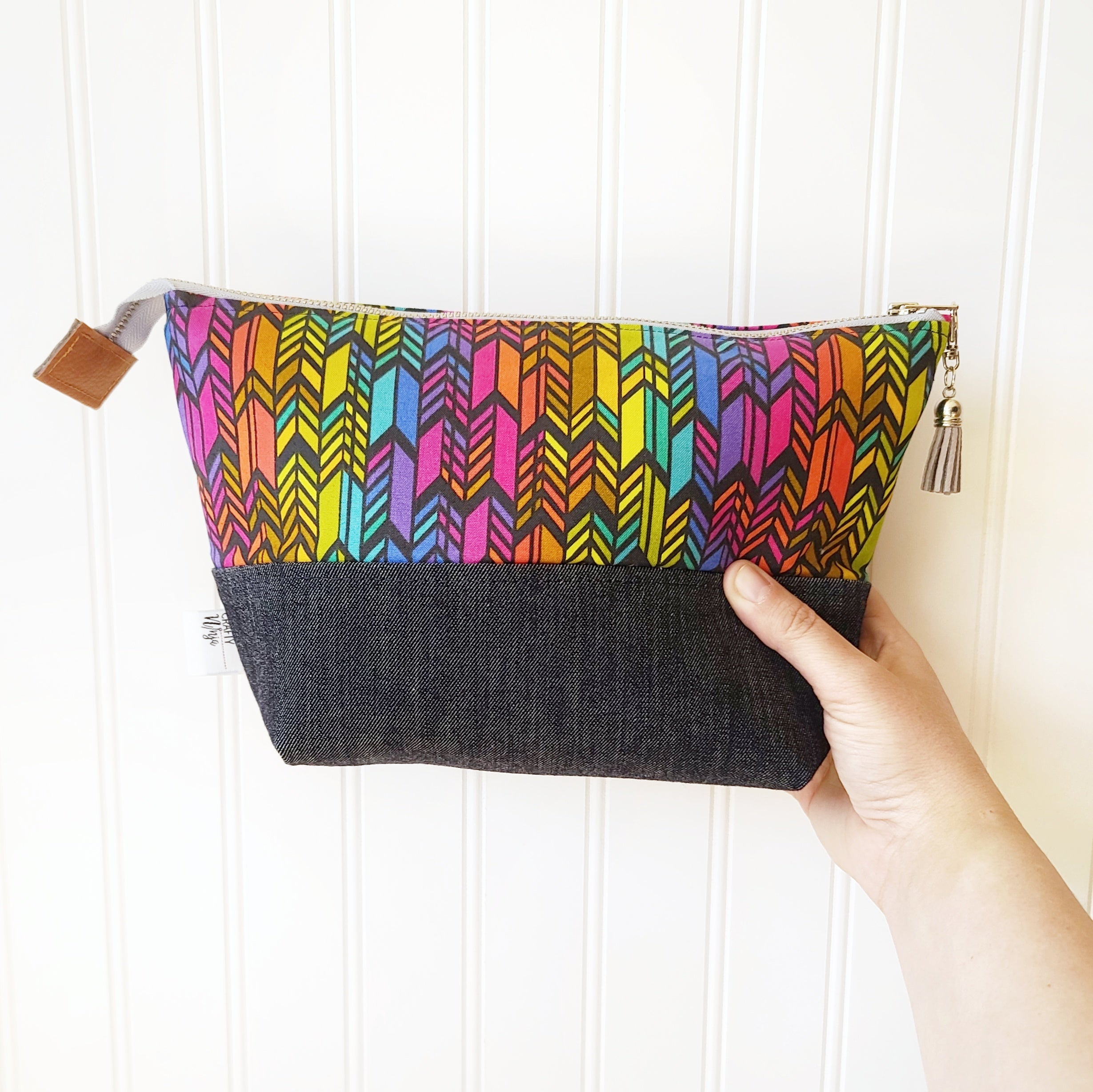 Zipper Pouches-Rainbow