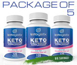 New Keto Electrolyte Supplement 5-Pack Bundle