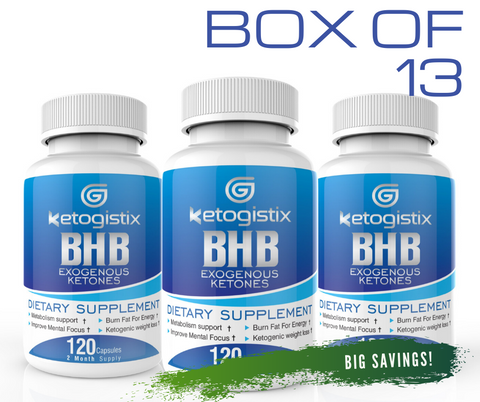 Ketogistix BHB Exogenous Ketones Box of 13