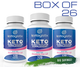 New Keto Electrolyte Supplement Box of 26