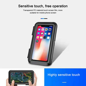 6.8 inch Waterproof Bicycle Phone Holder Stand Bike MTB Motorcycle  Cycling Bag Touch Screen Bicycle Accessories Top Tube Bags