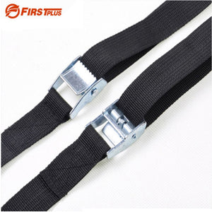 1-8 Meters Car Roof Box Luggage Racks Lashing Strap Motorcycle Cargo Tie Down Rope Straps For Outdoor Camping Canoes and Kayaks