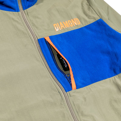 DMND MARQUISE REVERSIBLE POLAR FLEECE MUL