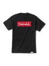 DMND ROSARY BOX LOGO TEE RED