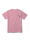 DMND ROSE WREATH TEE LTPN