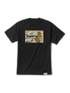DMND TIGER WAVE TEE BLK