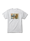 DMND TIGER WAVE TEE WHT
