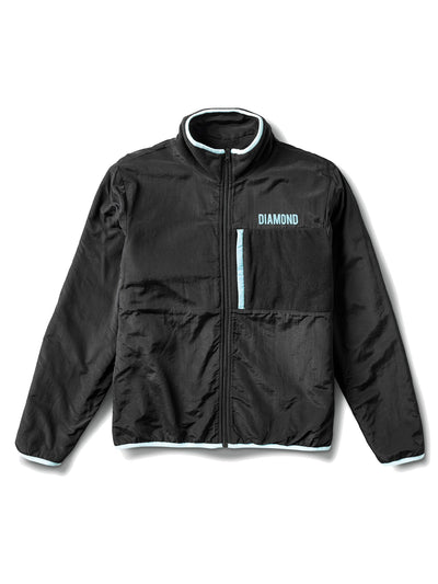 DMND MARQUISE REVERSIBLE POLAR FLEECE BLK