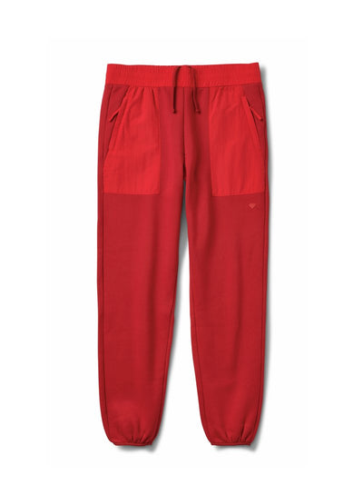 DMND BRILLIANT SWEATPANTS RED