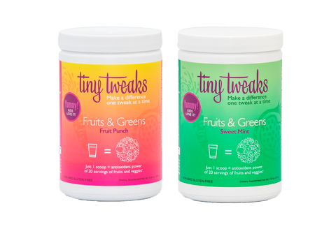 Tiny Tweaks Fruit Punch and Sweet Mint