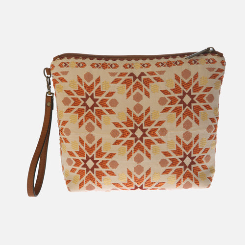 Bolso Clutch Marrakech naranja