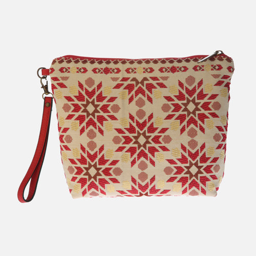 Bolso Clutch Marrakech rojo