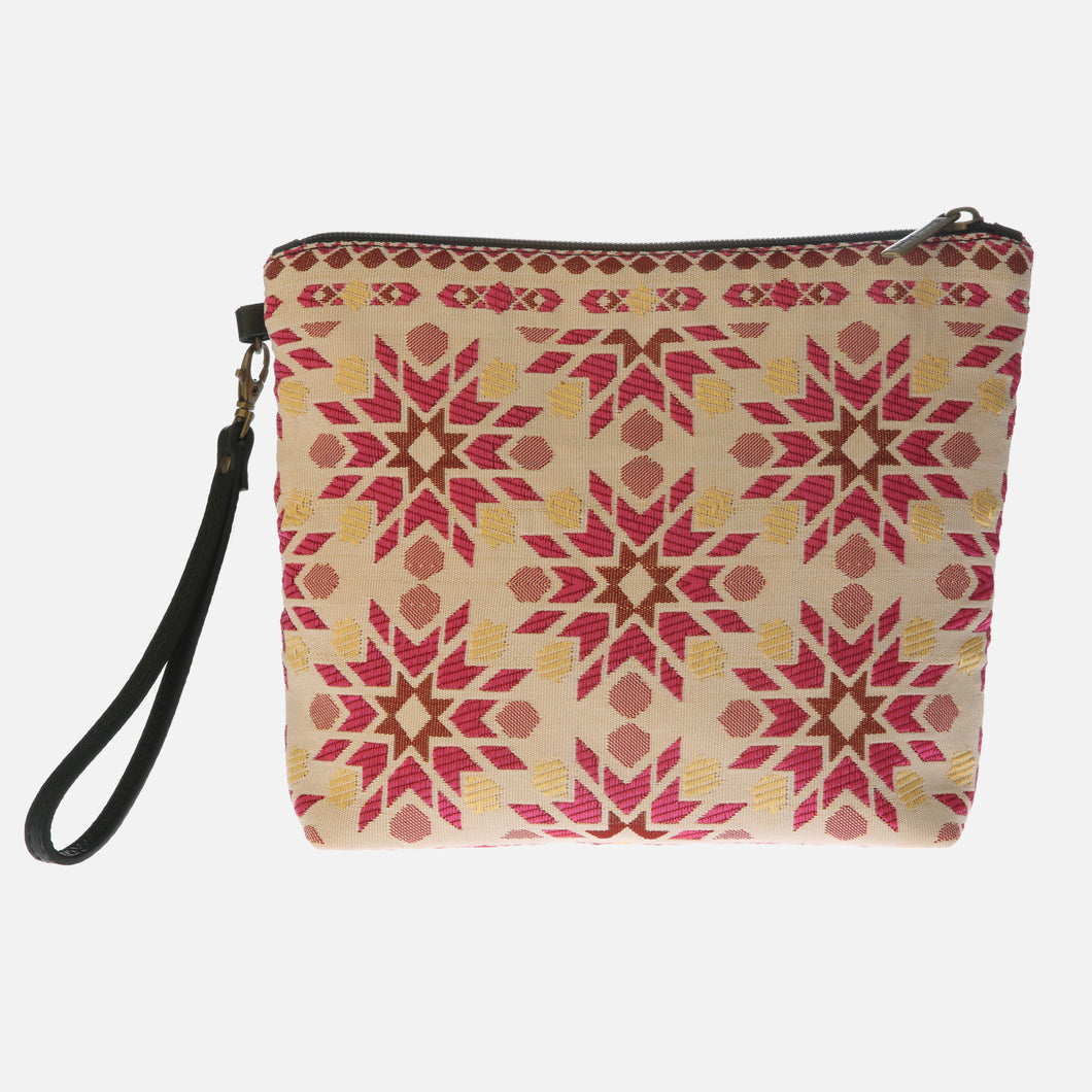Bolso Clutch Marrakech fucsia