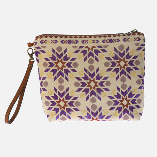 Bolso Clutch Marrakech lila
