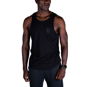 Tensho men's boxing tank top in black