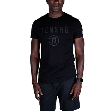 Tensho men's boxing tee in black